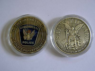 * City of CINCINNATI POLICE PD* Challenge Coin