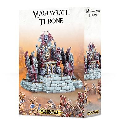 Warhammer Age of Sigmar/Fantasy Magewrath Throne  NEW!