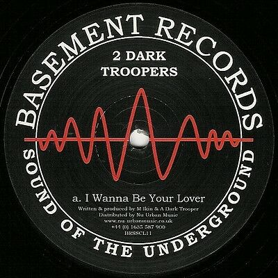 """12"""" Uk**2 Dark Troopers / I Wanna Be Your Lover / Techno Bros***23302"""