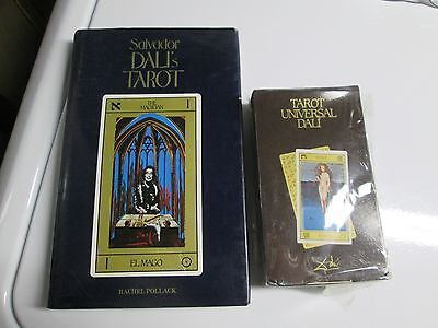 Salvador Dali Tarot Cards Deck & Book Set Cards are New and Sealed
