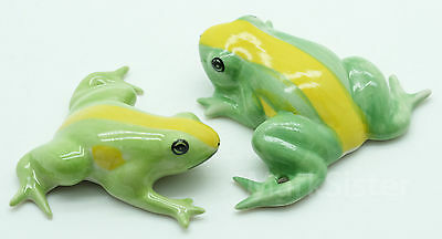 Figurine Miniature Animal Ceramic Statue 2 Frog - SAF028