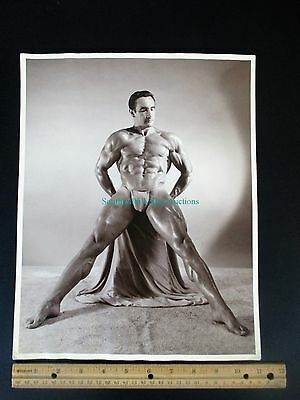 Gay Interest - Vintage - Male Physique Photo - WESTERN PHOTOGRAPHY GUILD - 11X14