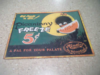 Picaninny Freeze Vintage Sign