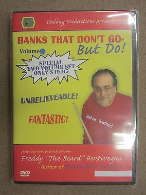 Banks That Don't Go But Do Pool Billiards Training  DVD