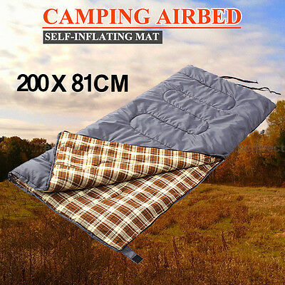 Outdoor Camping Micro Sleeping Bag Compact Thermal Hiking Tent Winter Grey