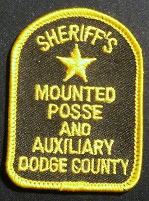 Dodge County Sheriff, Mounted Posses & Auxiliary Minnesota cap patch