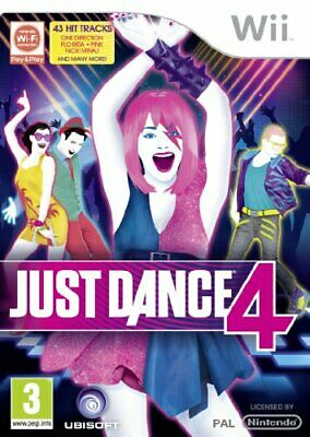 Just Dance 4 (Wii) - Game  F2VG The Cheap Fast Free Post