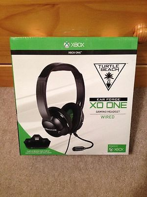 NEW Turtle Beach Ear Force XO ONE Gaming Headset XBox One + FREE PRIORITY MAIL !