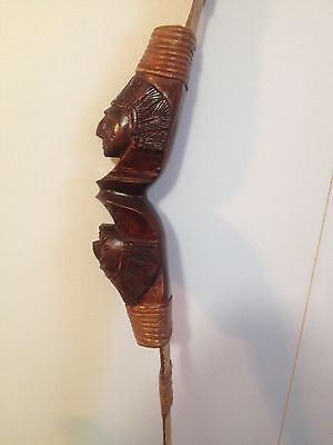 Hand Carved Bali Indonesia Bow