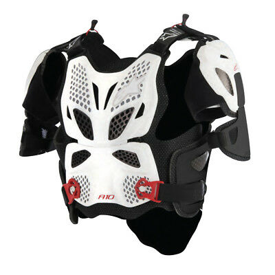 Alpinestars MX A-10 Full Chest Roost Guard Motocross Offroad Trail Enduro