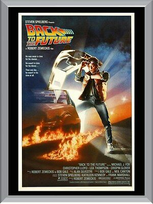 Back To The Future Movie A1 To A4 Size Poster Prints