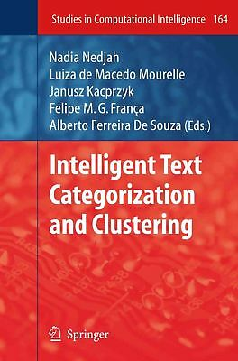 Intelligent Text Categorization and Clustering (English) Paperback Book