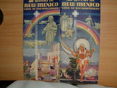 2 Weeks in New Mexico Vacation Booklet 1938 Land of Enchantment
