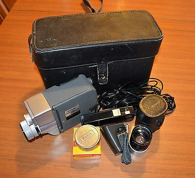 Rare and Collectible Canon Motor Zoom 8 EEE with case and accessories