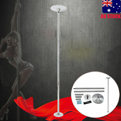 Portable Dance Pole also for exercise/home gym/dancing/fitness + 2X extentions