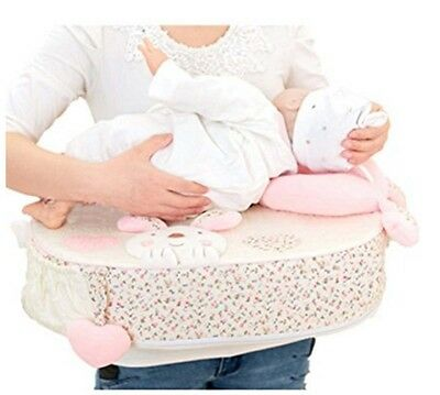 Nursing Pillow For Breast Feeding Back Support Comfortable Cushion Pink Rabbit