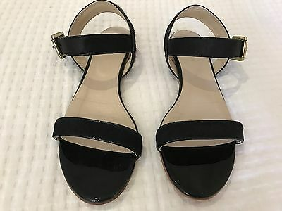 Witchery Sandals, Black, Size 39