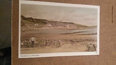 "LOT.167. "" THE BEACH, LYME REGIS. No. 786 "". UNPOSTED"
