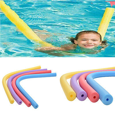 Safe Rehabilitation Learn Swimming Pool Noodle Water Float Aid Woggle Swim SEAU