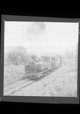 Welshpool and Llanfair Narrow Gauge Steam loco - B & W negatives (10)