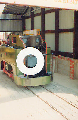Geoghegan loco at Amberley, 2 colour photos