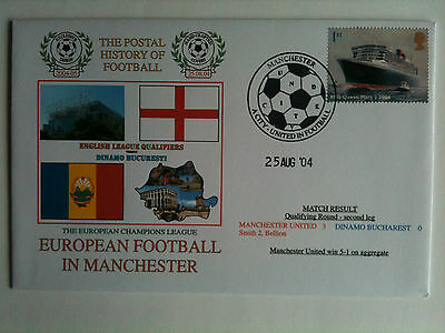 MINT 2004/05 Manchester United v Dinamo Bucharest   Champions League