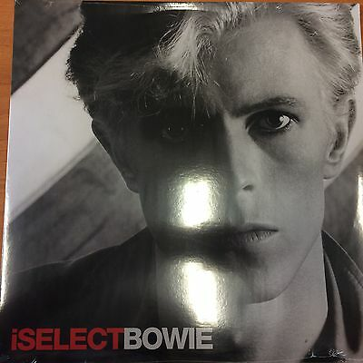 David Bowie Rare Iselect Lp Red Vinyl Mint Sealed