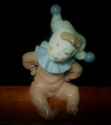 "LLADRO Nao   Jester Clown ""Jingles""   Excellent Condition"