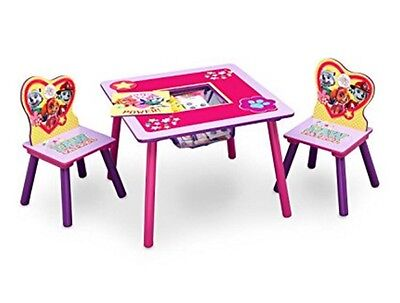 Enjoyable Table And Chair Set With Storage Paw Patrol Toddler Activity Creativecarmelina Interior Chair Design Creativecarmelinacom