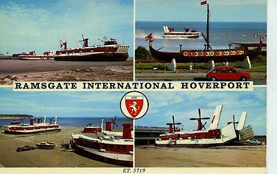 Ramsgate International Hoverport Postcard Undated & Unposted