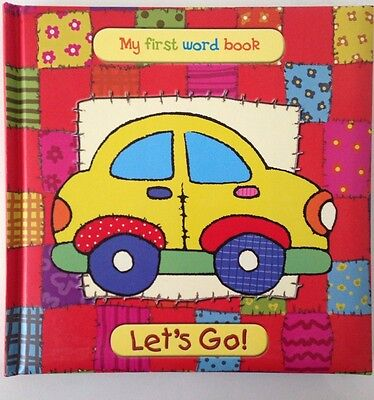 """Baby Toddler Early Educational Easy Book """" My First Word Book- Lets Go"""""""