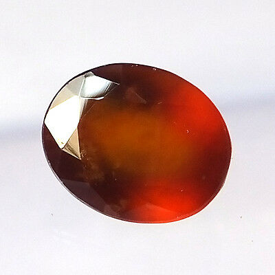 9.80 Carat Natural Hessonite Garnet 11X14MM Faceted Gemstone Oval Shape