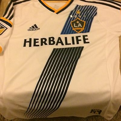 BNWOT LA Galaxy Steven Gerrard 8 player Spec MLS Liverpool fC Size M/L