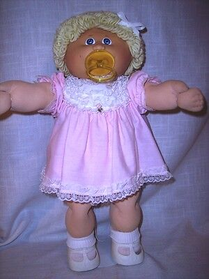 Coleco 1985 Cabbage Patch Kid Girl with Pacifier