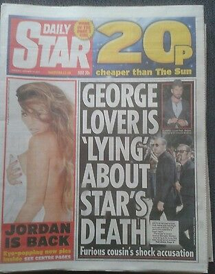 STAR NEWSPAPER-Jan 17 2017-George Michael Lover is Lying About Star's Death.