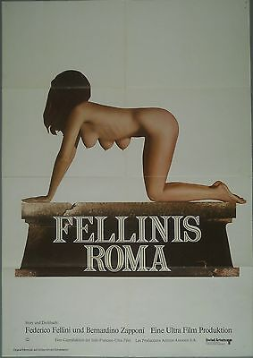 Fellinis Roma * Filmposter/filmplakat/a-1