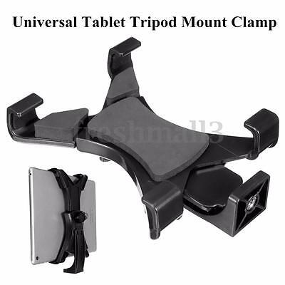 """Universal 7"""" - 10'' Tablet Tripod Mount Adapter Clamp Holder for iPad 2 3 4 Air"""