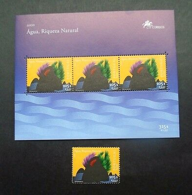 2001 United Europe Cept Portugal Vf Mnh 200.29