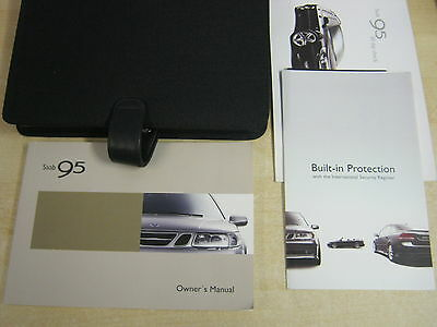 Saab 95 9-5  Handbook Pack Owners Manual Wallet 1999-2005 Diesel And Petrol