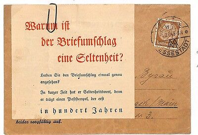 P317 1934 Germany Unusual Label Attached