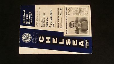 Chelsea V T.s.v Munchen 1860 Inter Cities Fairs Cup 1966