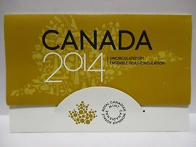 2014 Canada Uncirculated 6-Coin Mint Set