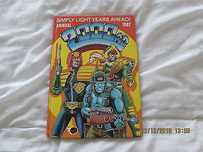 2000 A D  Annual  1987  Very  Good  For Age