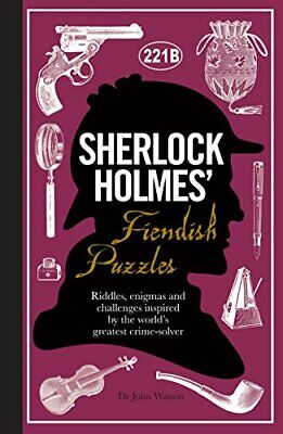 Sherlock Holmes' Fiendish Puzzles by Tim Dedopulos Book The Cheap Fast Free Post