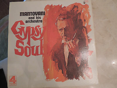 Mantovani And His Orchestra ~Gypsy Soul London Stereo Records