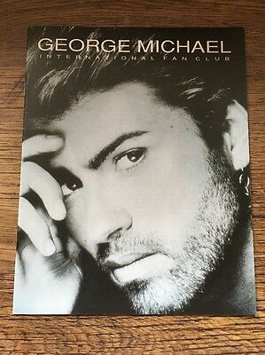 ❣RARE❣SPECIAL EXCLUSIVE MAGAZINE•International Fan Club~Wham! (George Michael)