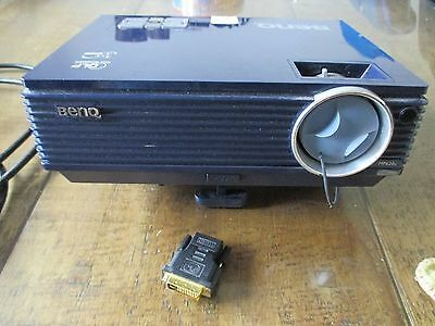 BenQ MP620C DLP Projector with HDMI Adapter + lead