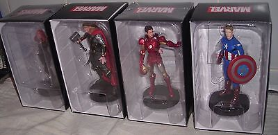 Eaglemoss Boxed Marvel Figures X4 Boxed And New