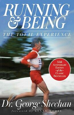 Running & Being: The Total Experience by George Sheehan Hardcover Book (English)