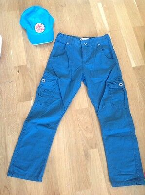 marks and spencer boys trousers size 7 8 years gap hat